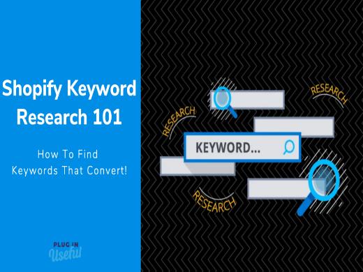 Shopify SEO Keyword Research