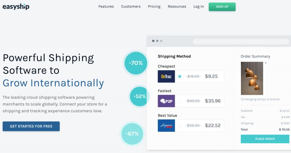 Easy Ship Shopify App